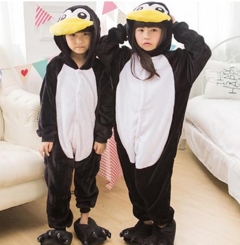 Children's Penguin Costume Pajamas
