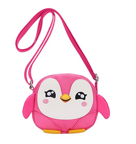 Kids Crossbody Mini Cartoon Penguin Purse