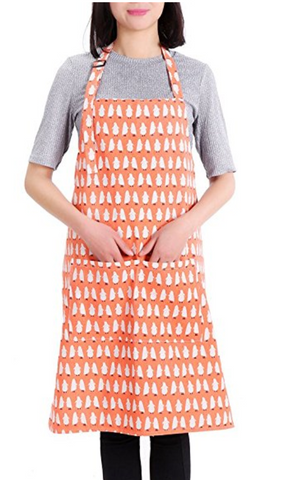 Adjustable Penguin Apron Waterproof with Pockets