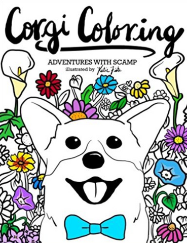 Corgi Coloring: Adventures with Scamp Book