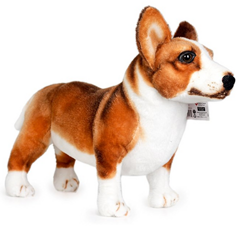 Large Welsh Corgi Stuffed Animal