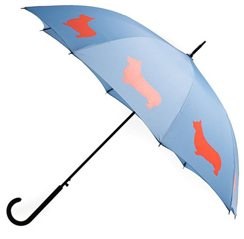 Welsh Corgi Premium Rain Umbrella