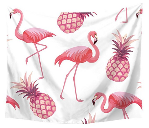 Flamingo Blanket Tapestry