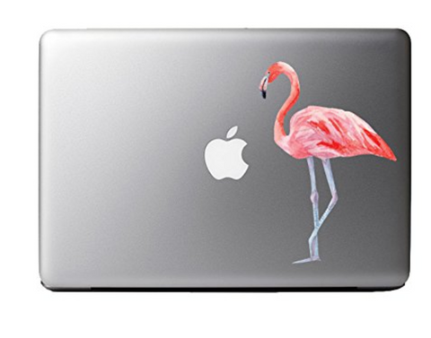 Watercolor Pink Flamingo Sticker