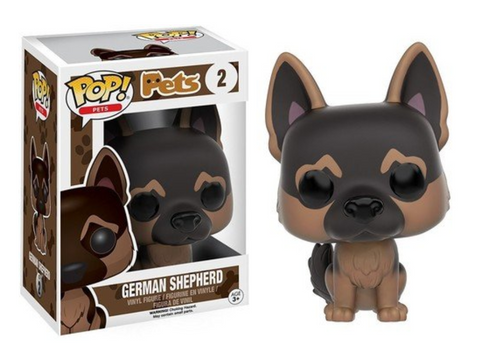 Pets German Shepherd Action Figure