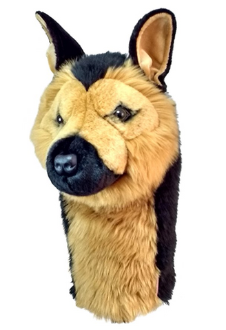 German Shepherd Golf Club Headcover