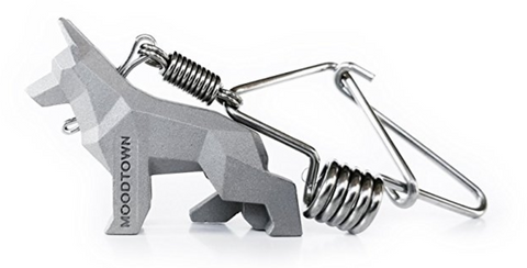 Handcrafted Stainless Steel German Shepherd Key Chain
