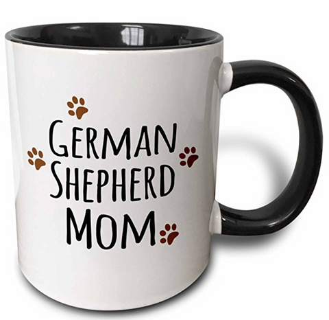 German Shepherd Dog Mom Coffee Mug