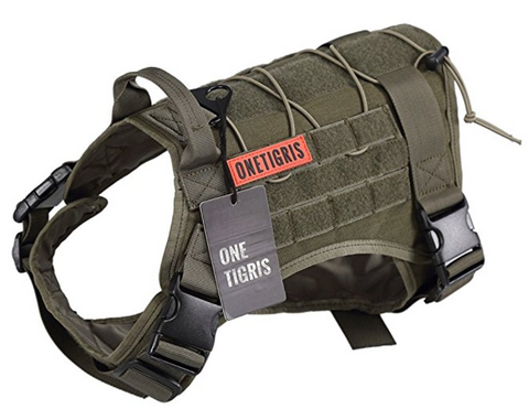 Tactical Service Dog Vest