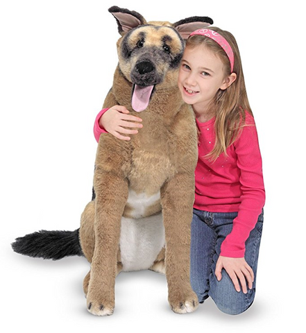 Giant German Shepherd Stuffed Animal