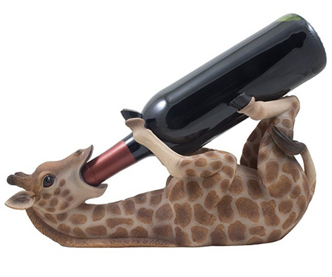 Giraffe Wine Bottle Holder