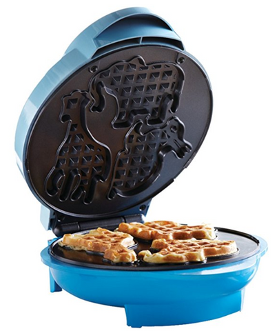 Giraffe Animal Shapes Waffle Maker