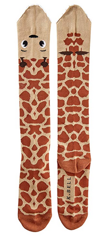 Knee High Giraffe Socks