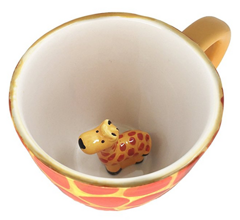 Surprise Giraffe Coffee Cup