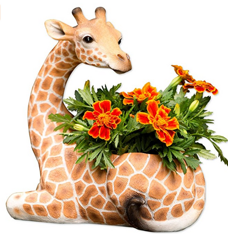 Indoor/Outdoor Giraffe Planter