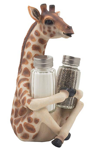 Giraffe Salt and Pepper Shaker Set