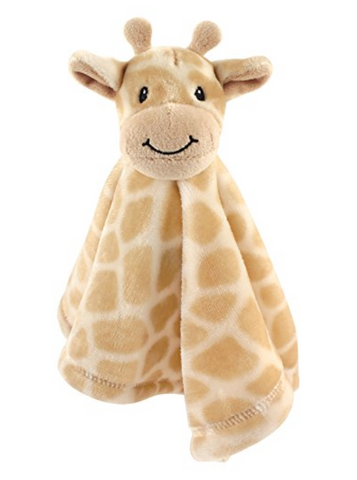 Giraffe Plushy Security Blanket