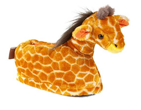 Giraffe Plush Slippers