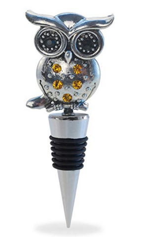 Metal Owl Wine Stopper