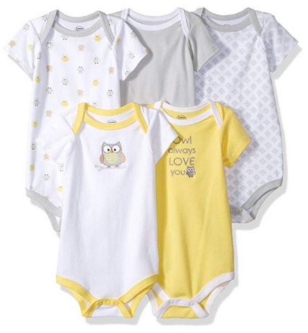 Owl Baby Cotton Bodysuits
