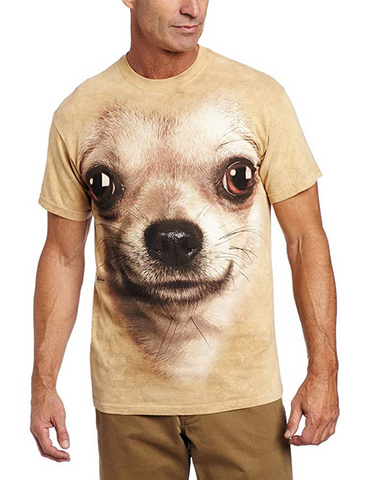 Men's Chihuahua Face T-Shirt