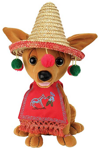 Singing And Dancing Feliz Navidad Chihuahua
