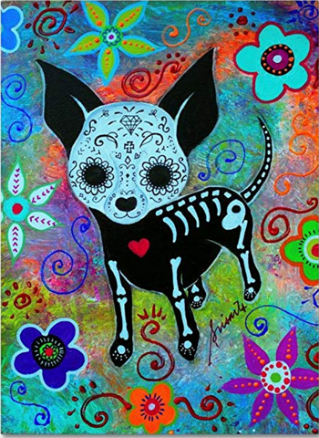 Chihuahua Canvas Wall Art