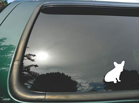 French Bulldog Silhouette Sticker