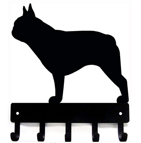 French Bulldog Leash Hanger
