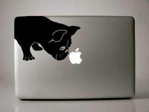 French Bulldog Sniff Decal