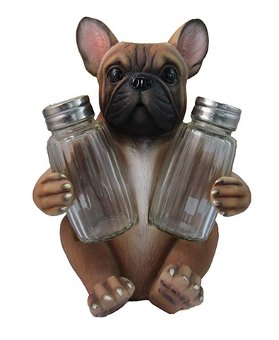 French Bulldog Salt And Pepper Shaker Set