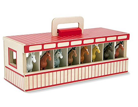 Horse Stable Play Set