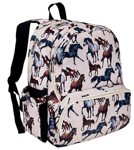 Horse Dreams Durable Backpack with Padded Straps