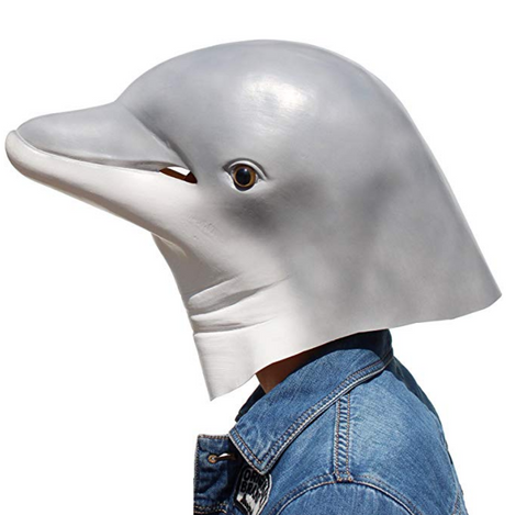 Latex Dolphin Mask