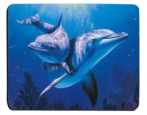 Dolphin Underwater Ocean Mouse Pad