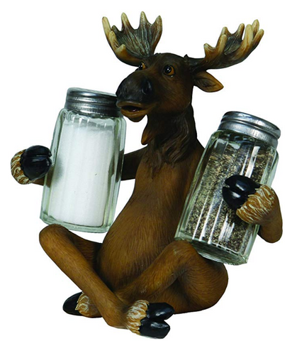 Moose Salt and Pepper Shaker Set