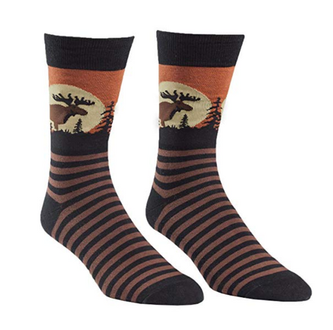 Moose Mens Crew Socks