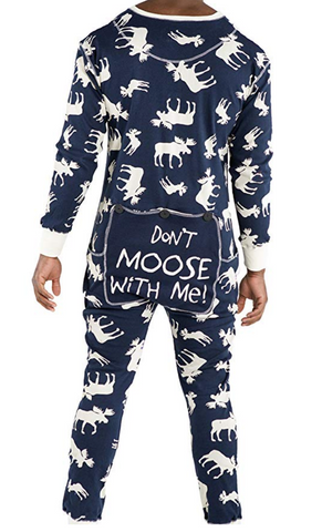 Flapjack One Piece Moose Pajamas