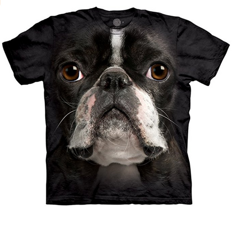 Boston Terrier Realistic T-Shirt