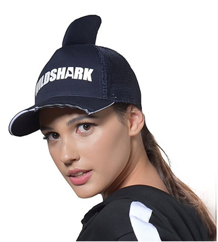 Parent-Child Unisex Shark Cap