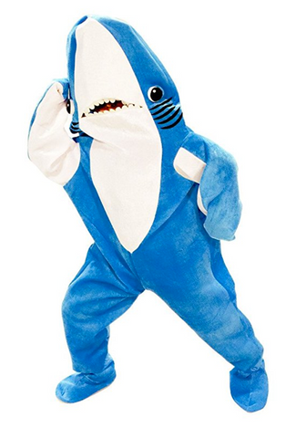 Shark Funny Cosplay Mascot Costume