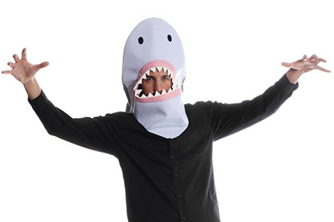 Sharknado Shark Mask