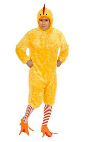 Adult Funky Chicken Costume Set
