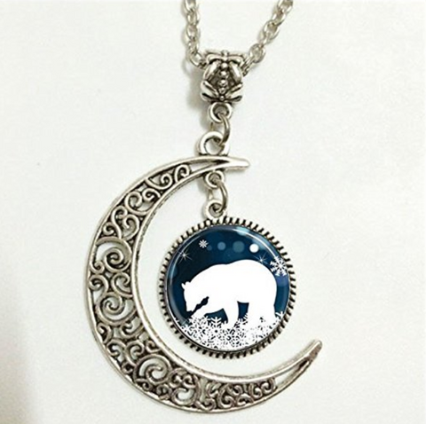 Polar Bear Moon Jewelry