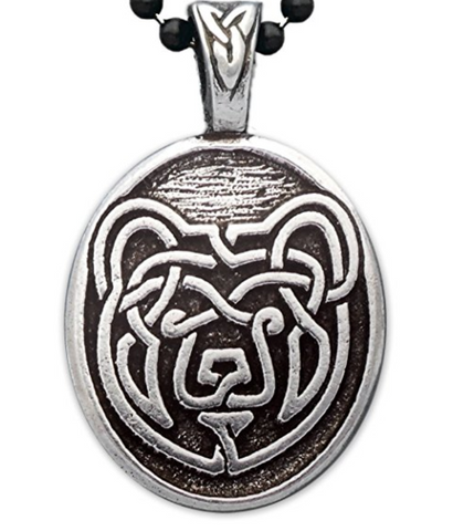 Celtic Bear Pendant