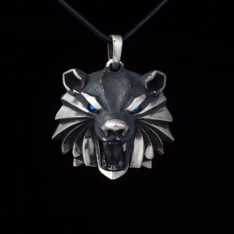 Bear Medallion Pendant
