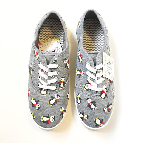 Penguin Canvas Shoes