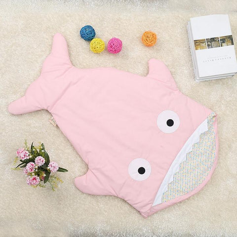 Cute Shark Baby Sleeping Bag