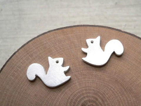 Forest Squirrel Stud Earrings