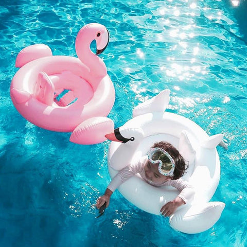 Flamingo Inflatable Swim Ring Float